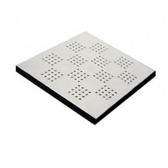 Вентиляционная плита с покрытием фальшпола Jansen 38HAB-P-AS + Colorado 031 Vent линолеум (с перфорацией)