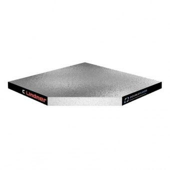 Плита для фальшпола Linder Nortec U+AS (Кальций-сульфат + ПВХ Vinyl AS 590 серый)