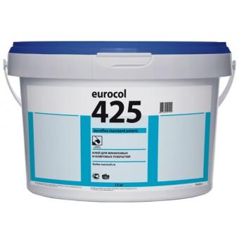 Клей для виниловых и ковровых покрытий (ковролина) Forbo 425 Euroflex Standard (Форбо 425), 13 кг