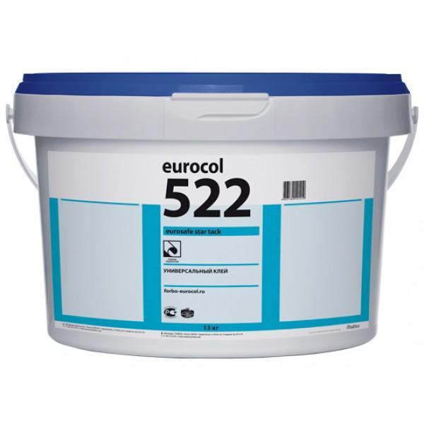 Универсальный клей для линолеума и ПВХ покрытий Forbo 522 Eurosafe Star Tack (Форбо 522), 13 кг