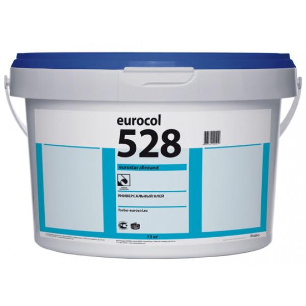 Универсальный клей для линолеума и ПВХ покрытий Forbo 528 Eurostar Allround (Форбо 528),13 кг
