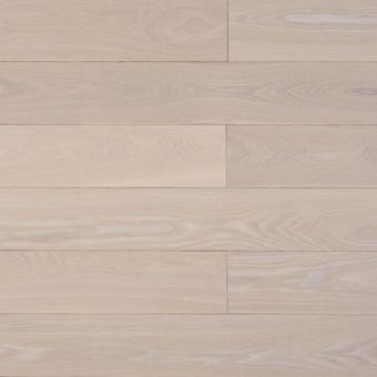 Массивная доска Amber Wood Ясень стандарт Белая ночь (120 мм)
