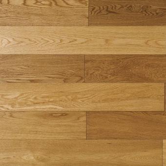 Паркетная доска Amber Wood Фьюжн лакированная Дуб Натуральный Бесцветный 1-полосный