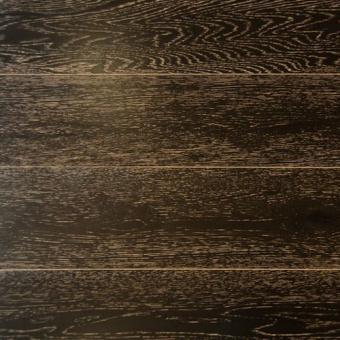 Паркетная доска Amber Wood Классика тонированная Дуб Мокко 1-полосный