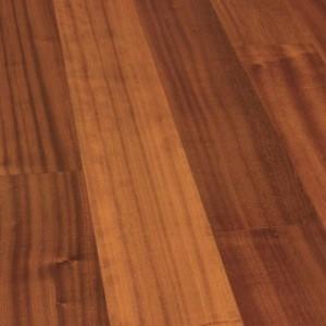 Паркетная доска Wood Bee Classic Сапели / Sapeli (1-полосный, UV-лак)