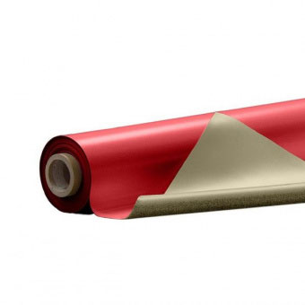 Сценический линолеум Tuchler Consor 1004210 красный / бежевый