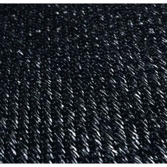 Тканое ПВХ-покрытие (виниловый ковролин) Bolon BKB SISAL PLAIN BLACK