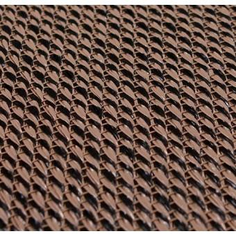 Тканое ПВХ-покрытие (виниловый ковролин) Bolon BKB SISAL PLAIN NATUR BLACK
