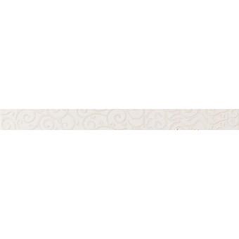 Керамический гранит - Atlas concorde - Дизайер Вайт Бордюр Шарм 46х500 мм - 12 шт