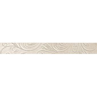 Керамический гранит - Atlas concorde - Бордюр Уника Бьянко Лиф 72х600 мм - 10 шт