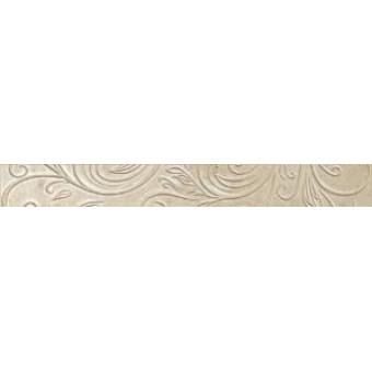 Керамический гранит - Atlas concorde - Бордюр Уника Беж Лиф 72х600 мм - 10 шт
