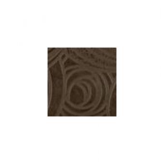 Вставка тоццетто Пьемонтэ коричневый Камелия 7,2х7,2