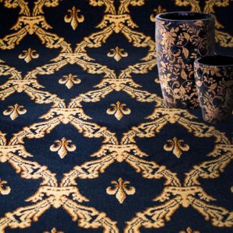 Ковролин Витебские ковры Арт 24 Корона (синий)