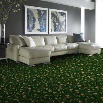Ковролин Витебские ковры Арт 24 Азалия (зеленый)