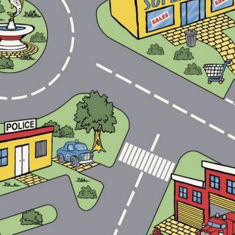 Линолеум IVC Bingo Traffic 50