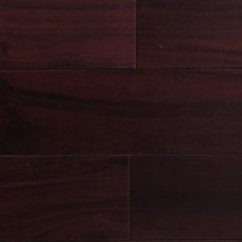 Массивная доска Parketoff Орех натур Бирманский черный