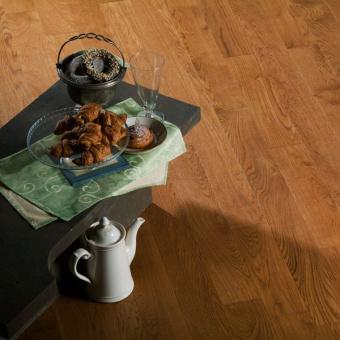 Массивная доска Coswick Бражированая коллекция Орех