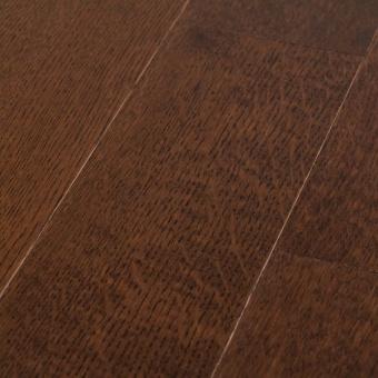 Массивная доска Coswick Радиальная коллекция Дуб Бразильский орех