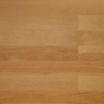 Паркетная доска Amber Wood Фьюжн лакированная Берёза жёлтая Селект Бесцветный 1-полосный