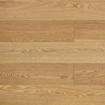 Паркетная доска Amber Wood Авангард на HDF Дуб PLAIN MATTE Матовый браш лак 1-полосный