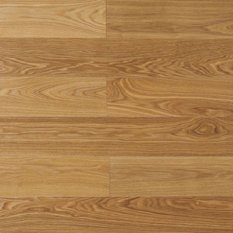 Паркетная доска Amber Wood Классика лакированная Ясень Селект Бесцветный 1-полосный