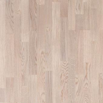 Паркетная доска Polarwood Classiс Дуб Tundra white matt 3-полосный