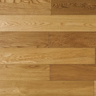Паркетная доска Amber Wood Классика лакированная Дуб Натур Бесцветный 1-полосный