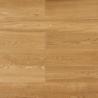 Паркетная доска Amber Wood Классика лакированная Дуб Селект Бесцветный 1-полосный