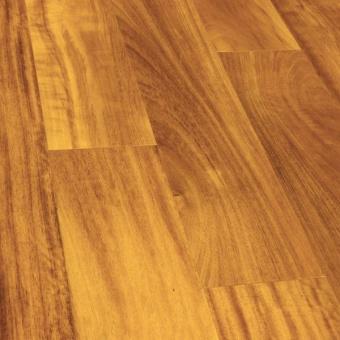 Паркетная доска Wood Bee Classic Ироко / Iroko (1-полосный, UV-лак)