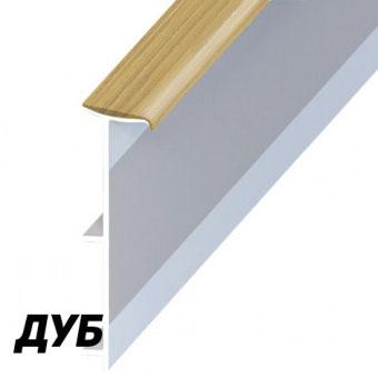 Плинтус Korner LP 50 151 Дуб (Oak)