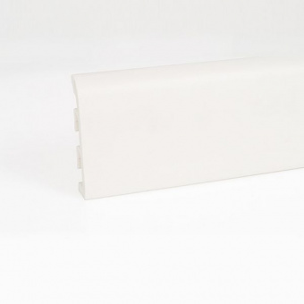 Плинтус Korner Idea 120 белый под покраску
