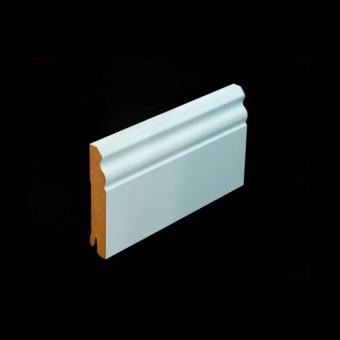 Плинтус Pedross MDF 5535 100х18х2500 белый глянцевый