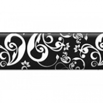 Плинтус Pedross MDF 6361 78х18х2500 Чёрный (Floreal - D01078)