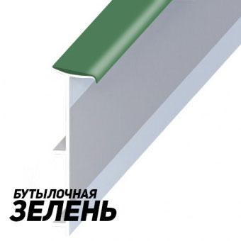 Плинтус Korner LP 50 110 Бутылочная зелень (Dark Green)