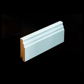 Плинтус Pedross MDF 5910 70х18х2500 Белый (подходит под покраску)