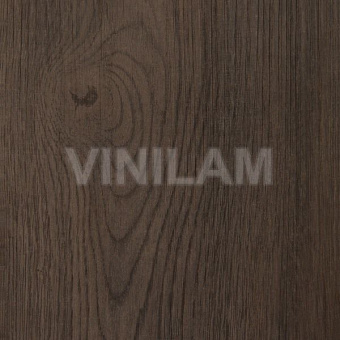 Виниловая плитка Vinilam Grip Strip 47316 - ТЁМНО-СЕРЫЙ ДУБ