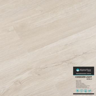 Кварцвиниловая плитка Alpine floor Sequoia Liht Eco 6-3