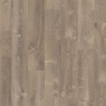 Виниловая плитка Quick Step Pulse Click Дуб песчаный теплый коричневый PUCL40086