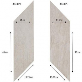 Виниловая плитка Forbo Effekta Professional 4043 PR-PL White Fine Oak PRO (ромб)