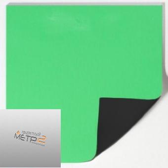 Сценический линолеум Tuchler ColorX 150 PLUS зеленый хромакей 16415 / черный