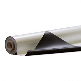 Сценический линолеум Tuchler Consor 1004210 черный / белый