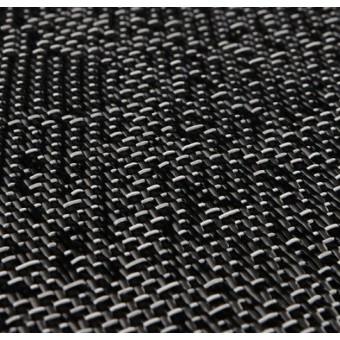 Тканое ПВХ-покрытие (виниловый ковролин) Bolon Graphic TEXTURE BLACK