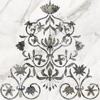 Декор напольный Каррара 1 тип 2 50х50
