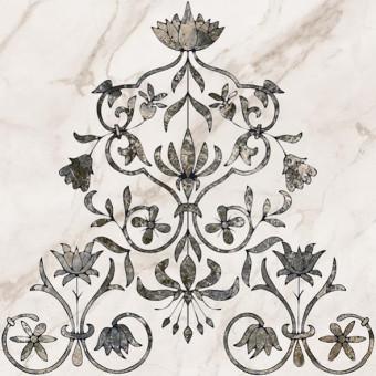 Декор напольный Каррара 3 тип 2 50х50