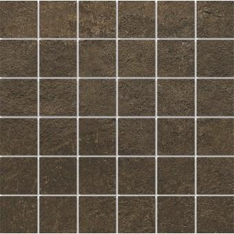 Керамогранит DD2002\MM | Декор Про Стоун коричневый мозаичный