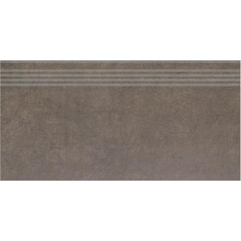 Керамогранит SG614900R\GR | Ступень Королевская дорога коричневый обрезной