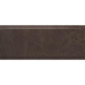 Керамогранит BDA008R | Бордюр Версаль коричневый обрезной