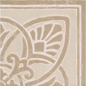 Керамогранит HGD\A117\DD9000 | Декор Про Стоун ковёр угол светлый беж