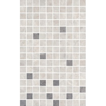 Керамогранит MM6268A   Декор Мармион серый мозаичный