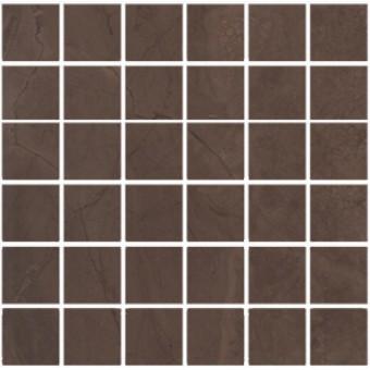 Керамогранит MM11139 | Декор Версаль коричневый мозаичный
